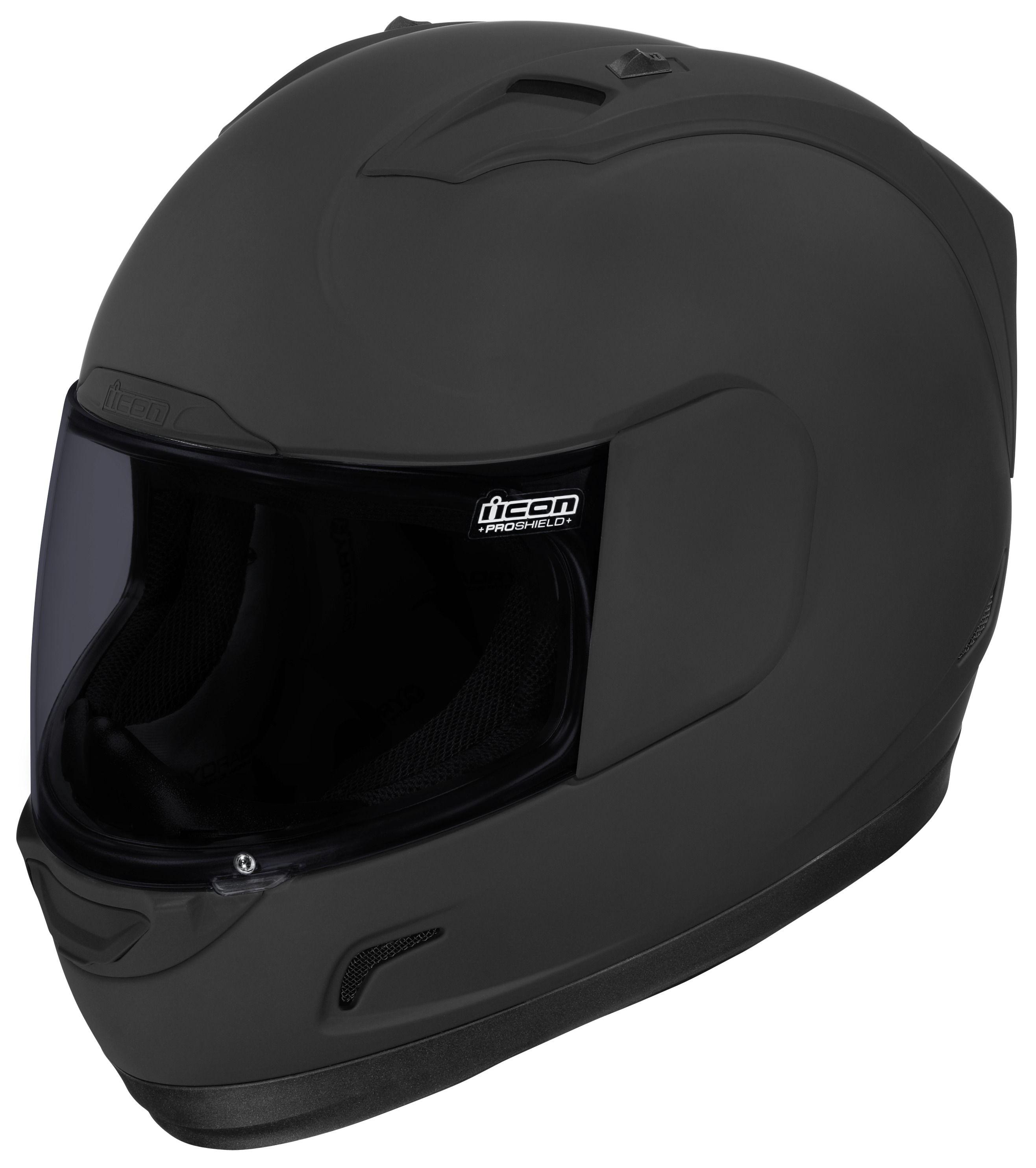 c1d994f215dd7 Icon Alliance Dark Helmet - Cycle Gear