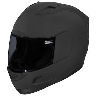 Icon Alliance Dark Helmet (Color: Rubatone Black / Size: 3XL) 905873