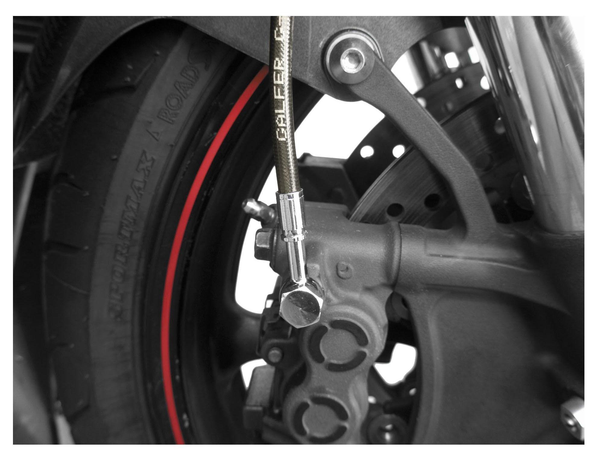 Galfer D540-2 Steel Braided Front Brake Line
