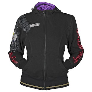 Speed and Strength Killer Queen Armored Women's Hoody (Color: Black / Size: WLG) 907166