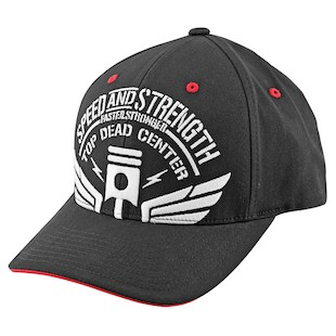 Speed and Strength Top Dead Center Hat (Color: Black / Size: SM-MD) 907988