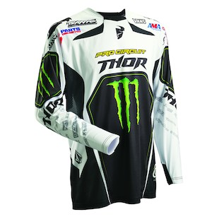 Thor Core Pro Circuit Jersey (Color: White/Black/Green / Size: MD) 909464