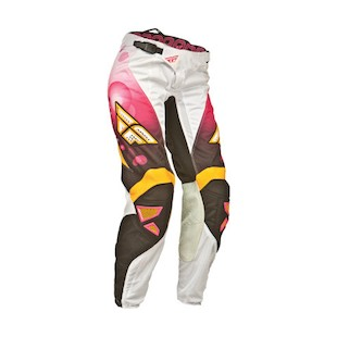 Fly Racing Kinetic Race Women's Pants (Color: Pink/Orange / Size: 13/14 ) 912759