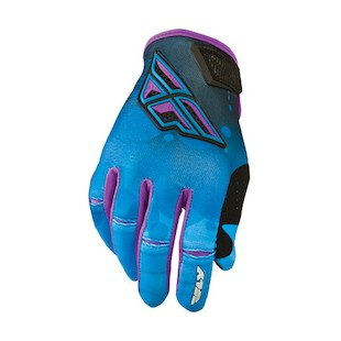 Fly Racing Kinetic Women's Gloves (Color: Blue/Purple / Size: 10) 912765