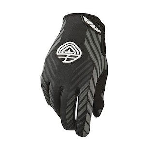 Fly Racing 907 Gloves (Color: Black/Grey / Size: 12) 913041