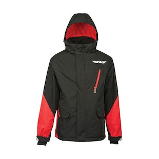Fly Racing Factory Jacket (Color: Red/Black / Size: MD) 913109