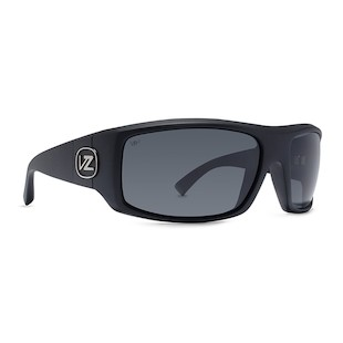 VonZipper Clutch Sunglasses (Color: Black Satin w/Polarized Lens) 914203