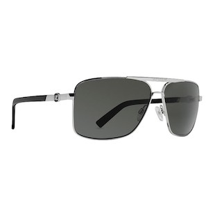 VonZipper Metal Stache Sunglasses (Color: Silver) 914206