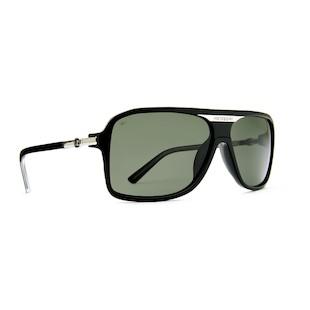 VonZipper Stache Sunglasses (Color: Black Smoke w/Polarized Lens) 914208