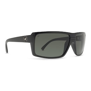 VonZipper Snark Sunglasses (Color: Black Gloss w/Polarized Lens) 914209
