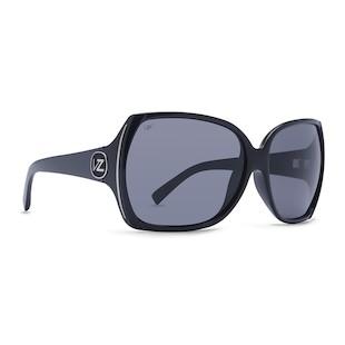 VonZipper Trudie Sunglasses (Color: Black Gloss w/Polarized Lens) 914246