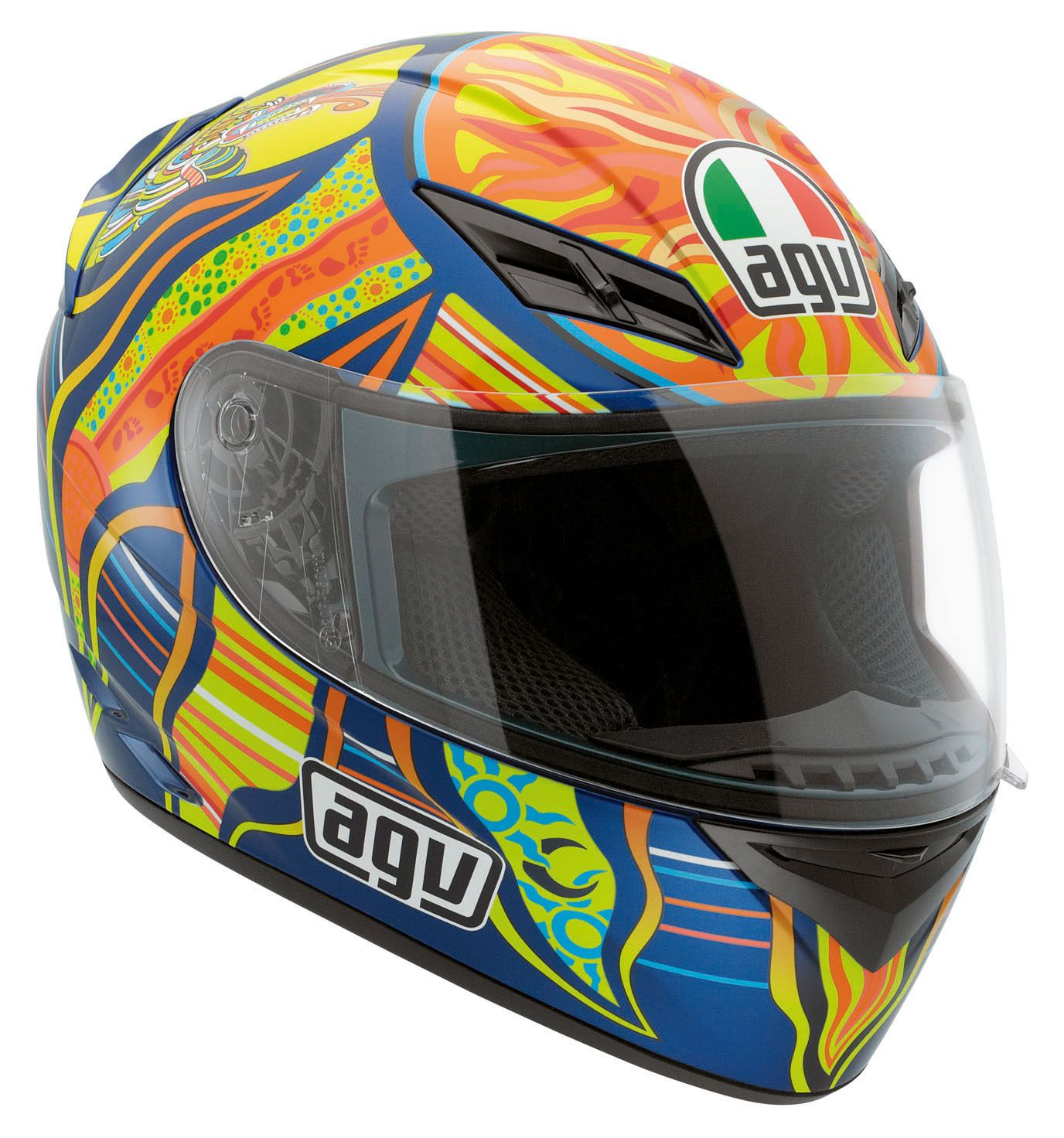 agv k3 5 continents helmet cycle gear. Black Bedroom Furniture Sets. Home Design Ideas