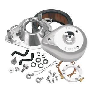 S&S Teardrop Air Cleaner Kit For Harley CV Big Twin 1993-2006 (Finish: Chrome) 914272