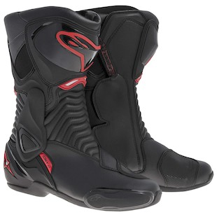 Alpinestars SMX 6 Boots (Color: Black/Red / Size: 36) 915317