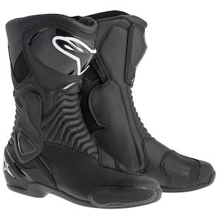 Alpinestars SMX 6 Vented Boots (Color: Black / Size: 50) 914406