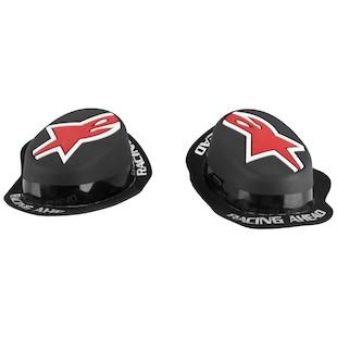 Alpinestars GP Rain Knee Sliders (Color: Black/Red) 915139