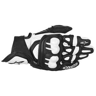 Alpinestars GPX Gloves (Color: Black/White / Size: 3XL) 915252