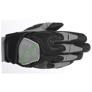 Alpinestars Scheme Gloves (Color: Black/Green / Size: 2XL) 915270