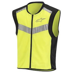 Alpinestars Flare Hi Viz Vest (Color: Fluo Yellow/Black / Size: XL) 914631