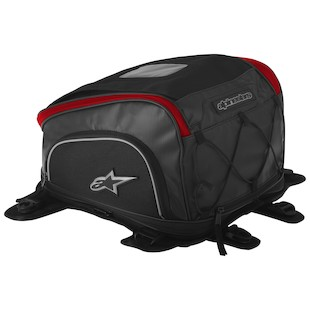 Alpinestars Tech Aero Tank Bag (Color: Black/Red) 915152