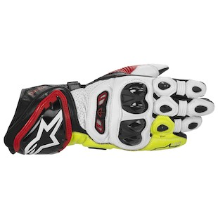 Alpinestars GP Tech Gloves (Color: Black/Red/Fluo Yellow / Size: 2XL) 915303