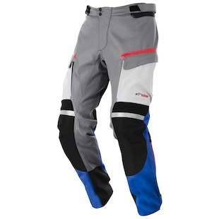 Alpinestars Valparaiso Drystar Pants (Color: Grey/Blue/Red/Sand / Size: MD) 915488