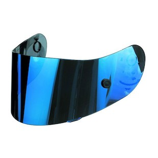 AGV GP-Tech / T-2 Face Shield (Color: Iridium Blue) 412335