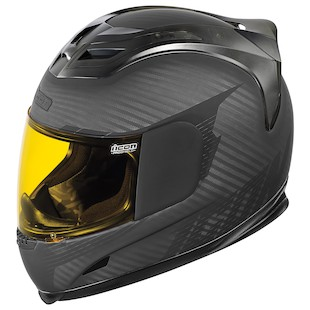 Icon Airframe Ghost Carbon Helmet (Size 3XL Only) (Color: Rubatone Black/Grey Carbon / Size: 3XL) 917846