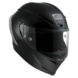 AGV Corsa Helmet - Solid (Color: Black / Size: ML) 918380