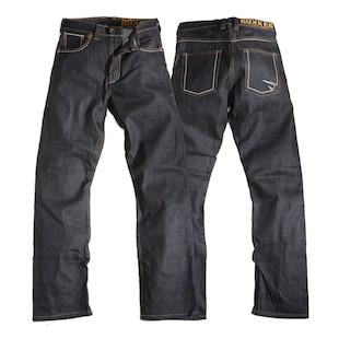 Rokker Original Raw Jeans (Color: Black Denim / Size: 38X36) 918650