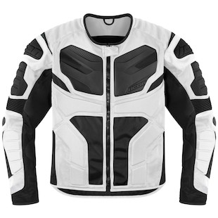 Icon Overlord Resistance Jacket (Color: White / Size: LG) 918080