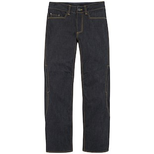 Icon Insulated Denim Pants (Color: Blue / Size: 40) 918116
