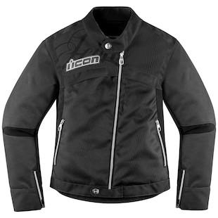 Icon Hella 2 Women's Jacket (Color: Black / Size: 2XL) 918172