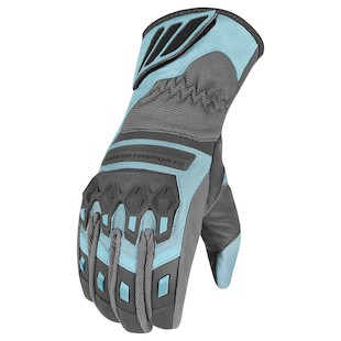 Icon Citadel Women's Gloves (Color: Blue / Size: LG) 917918