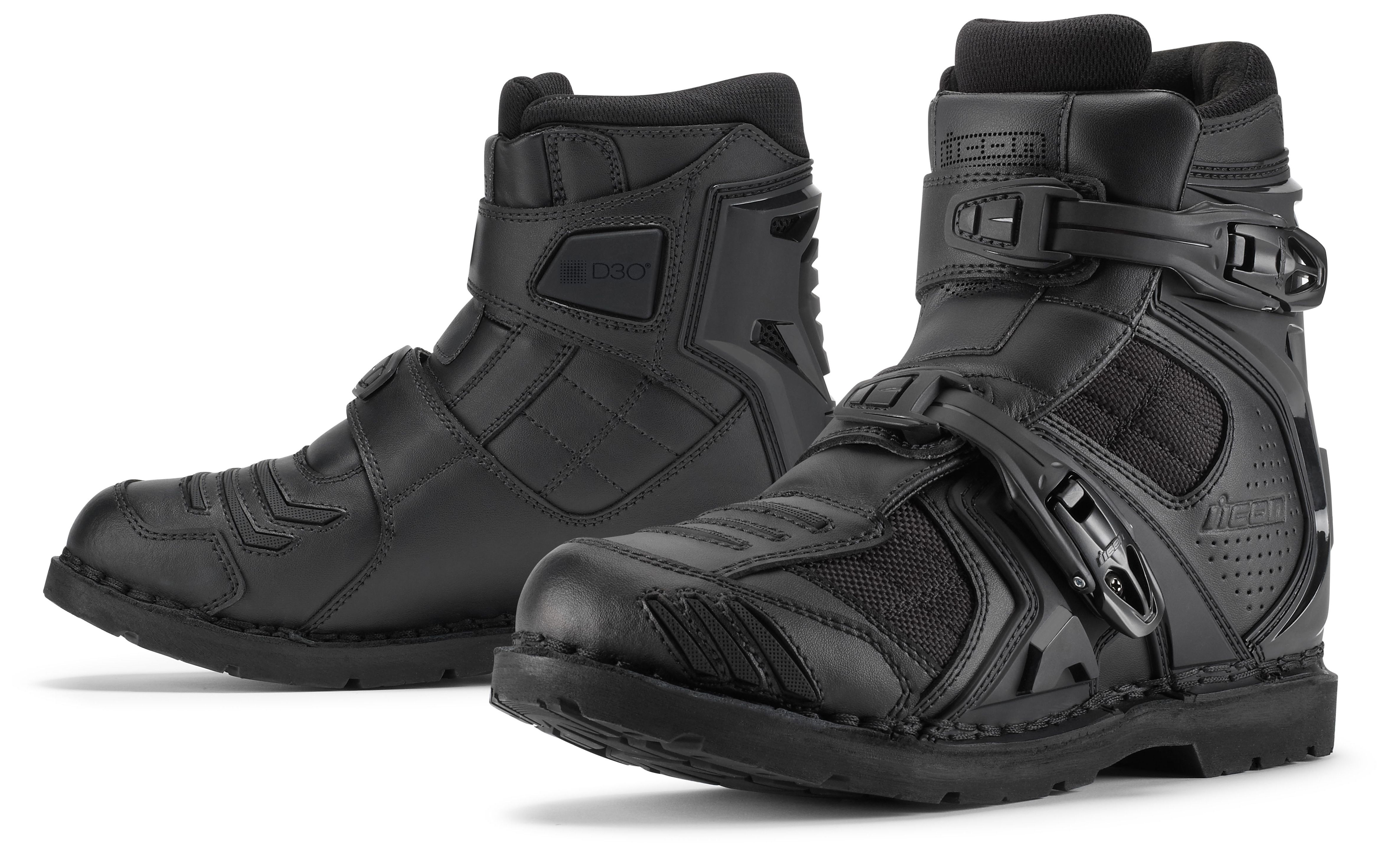 Icon Field Armor 2 Boots Cycle Gear