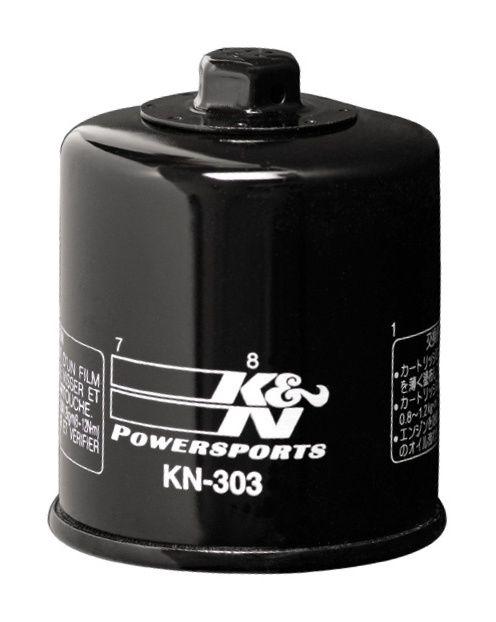 K/&N Chrome Oil Filter for 1992 Yamaha XJ600