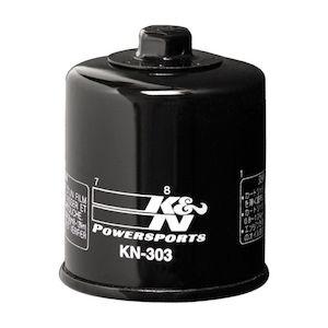 K/&N VICTORY OIL FILTER CHROME 1995-1999 VT1100C2 Shadow ACE HONDA KN-303C