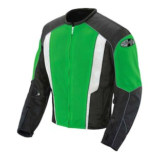 Joe Rocket Phoenix 5.0 Jacket (Color: Green/Black / Size: MD) 921941