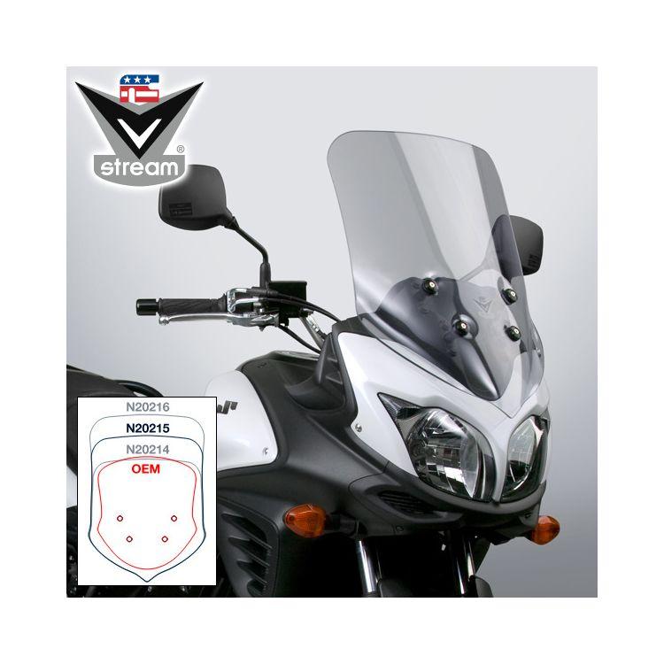 National Cycle VStream Sport Touring Windscreen Suzuki V-Strom 650 2012-2016