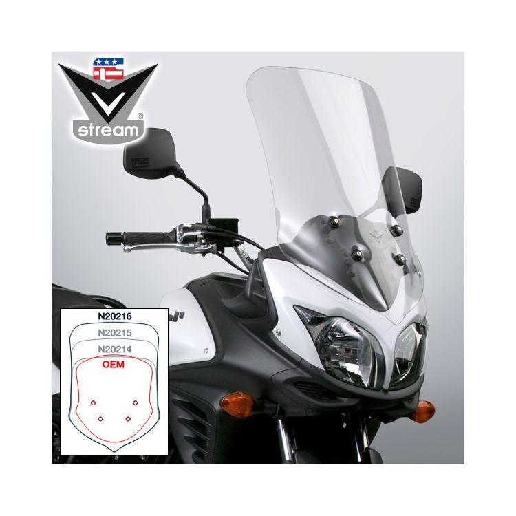 National Cycle VStream Tall Touring Windscreen Suzuki V-Strom 650 2012-2016