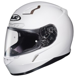 HJC CL-17 Striker Helmet (Color: Orange/White/Blue / Size: 3XL) 1057193