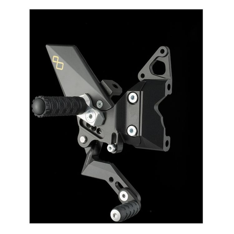 Lightech Track System Rearsets Ducati 899 / 1199 / 1299 Panigale