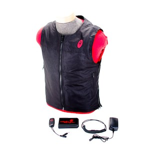 Symtec Heat Demon Heated Vest With Battery (Color: Black / Size: SM-XL) 932957