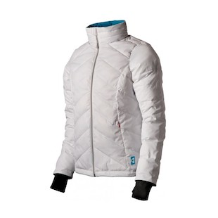 Gerbing 7V Puffer Women's Jacket (Color: White / Size: MD) 922330