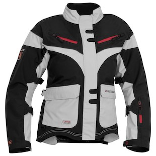 Firstgear TPG Monarch Women's Jacket (Color: Black/Silver / Size: XS) 933028