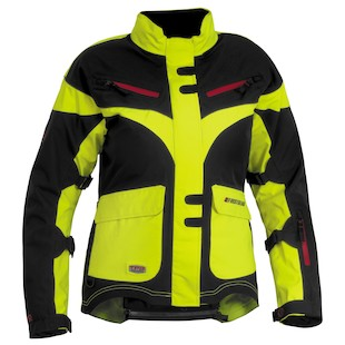 Firstgear TPG Monarch Women's Jacket (Color: Neon Yellow/Black / Size: MD) 933036