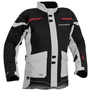 Firstgear TPG Rainier Jacket (Color: Black/Silver / Size: SM) 933006