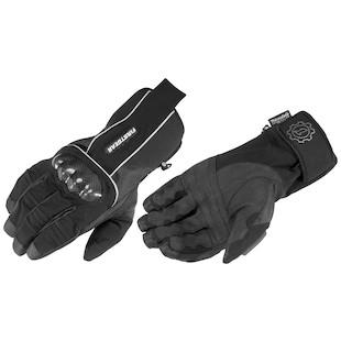 Firstgear Kathmandu Gloves (Color: Black / Size: MD) 907460