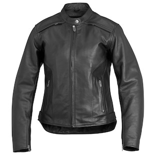 River Road Savannah Cool Women's Leather Jacket (Color: Black / Size: SM) 932299