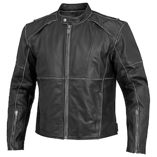 River Road Rambler Leather Jacket (Color: Black / Size: 40) 932365